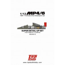 1/12 MP4/6 Super Detail-Up Set