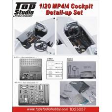 1/20 MP4/4 Cockpit Detail-up Set
