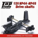 1/20 MP4/4 - MP4/8 Drive Shafts