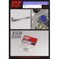 1/12 2000-2001 NSR250 Transponder and Shift Linkage