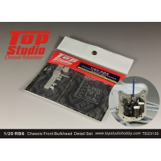 1/20 RB6 Chassis Front Bulkhead Detail Set