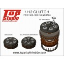 1/12 Clutch for 1983-1989 NS, NSR500