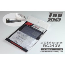 1/12 Exhaust Pipe for RC213V