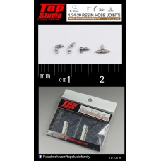 1/24-20 (0.8mm) resin hose joints