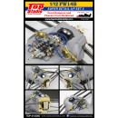 1/12 FW14B Super Detail-up Set 2 - Front Dampers and Chassis Front Bulkhead