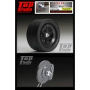 1/24 C9 (For T) Wheel Center Lock Nuts