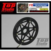 1/12 Carbon Brake Disk Bolt for Racing Bike